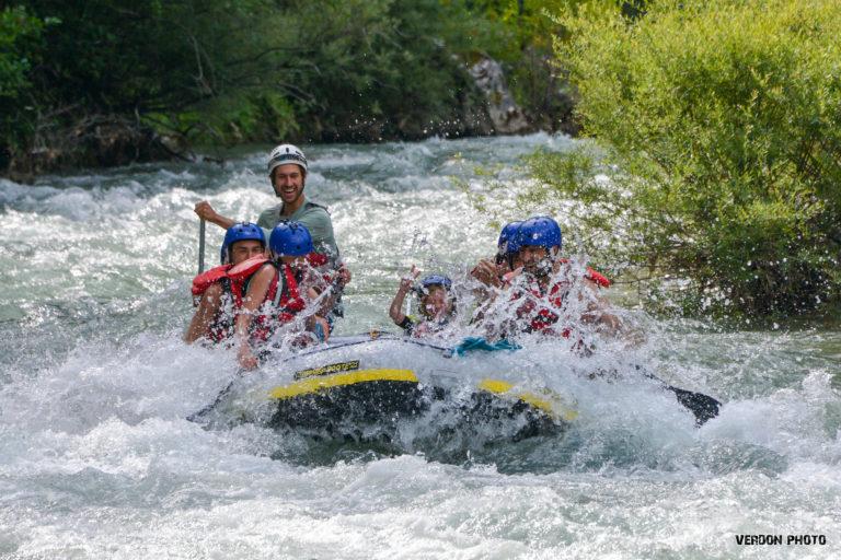 Rafting sur le Verdon : nous rejoindre depuis Esparron, Quinson ou Gréoux-les-Bains