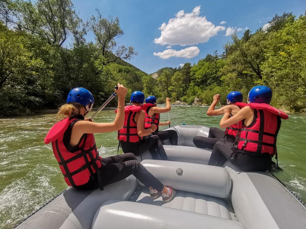Rafting Gorges du Verdon, Castellane