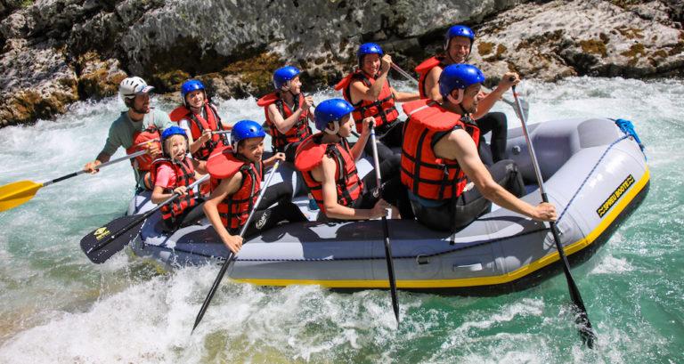 Le rafting dans les Gorges du Verdon