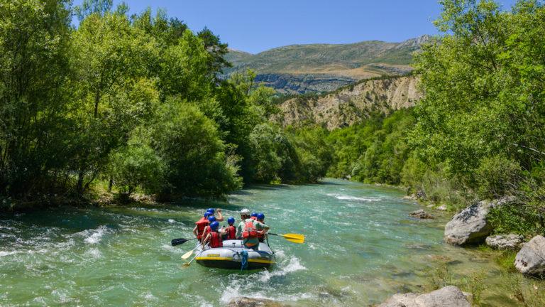 Les spots rafting proches de Marseille et Aix en Provence