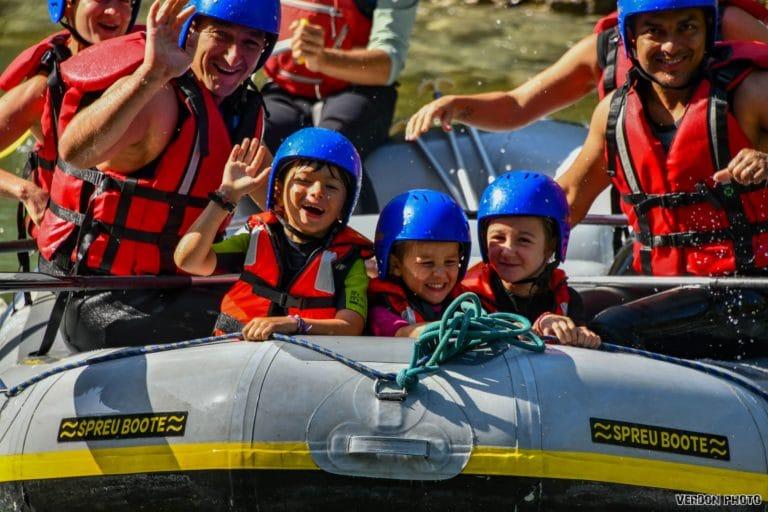 Rafting et canyoning proche de Draguignan